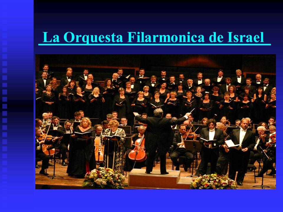 La Orquesta Filarmonica de Israel