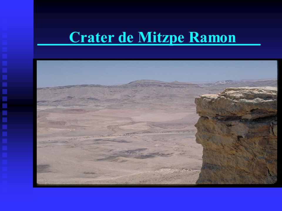 Crater de Mitzpe Ramon