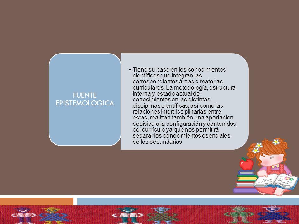 FUENTE EPISTEMOLOGICA