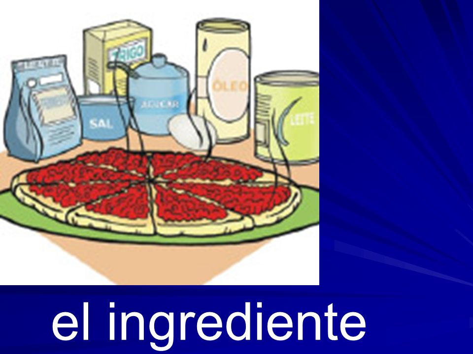 el ingrediente