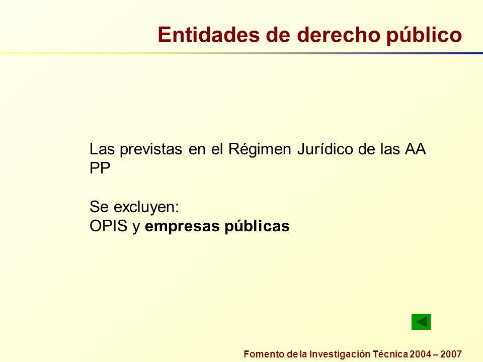 Entidades de derecho público