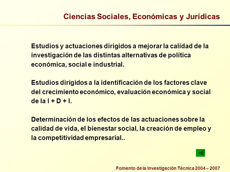 Ciencias Sociales, Económicas y Jurídicas