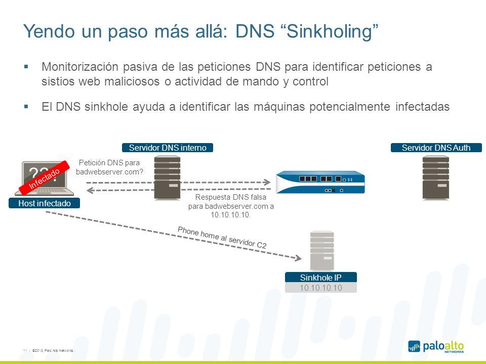 Yendo un paso más allá: DNS Sinkholing
