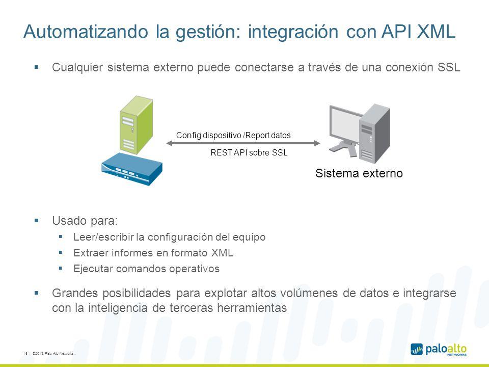 Automatizando la gestión: integración con API XML