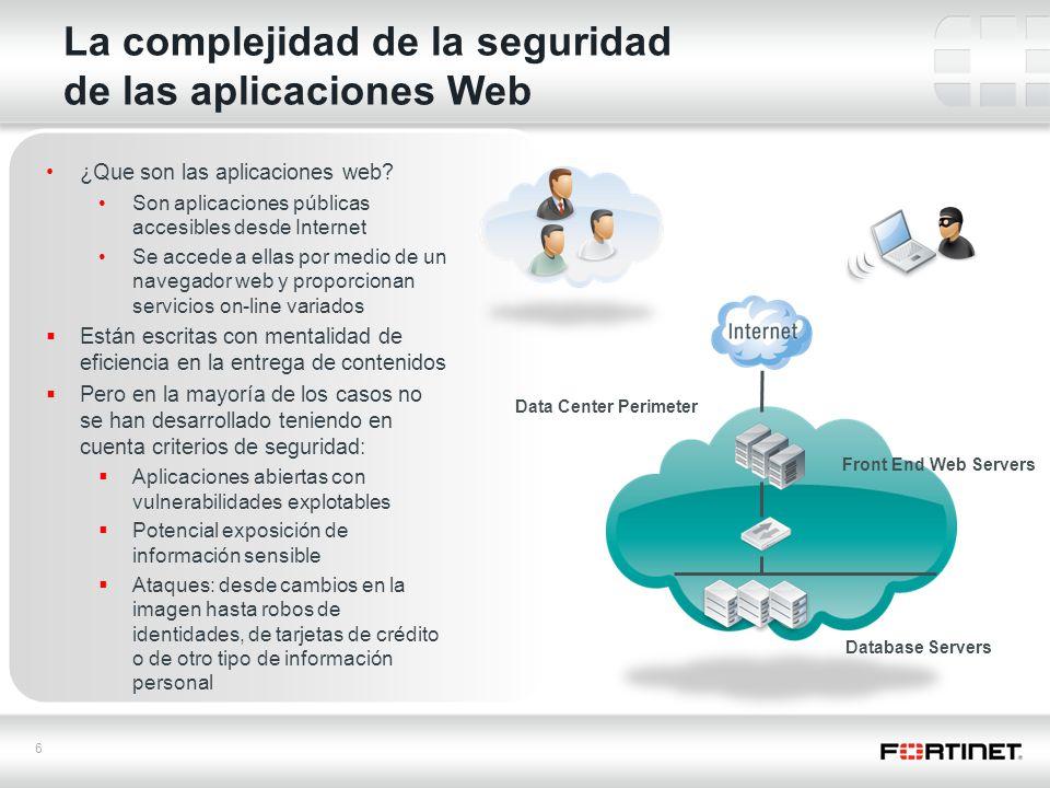 La complejidad de la seguridad de las aplicaciones Web
