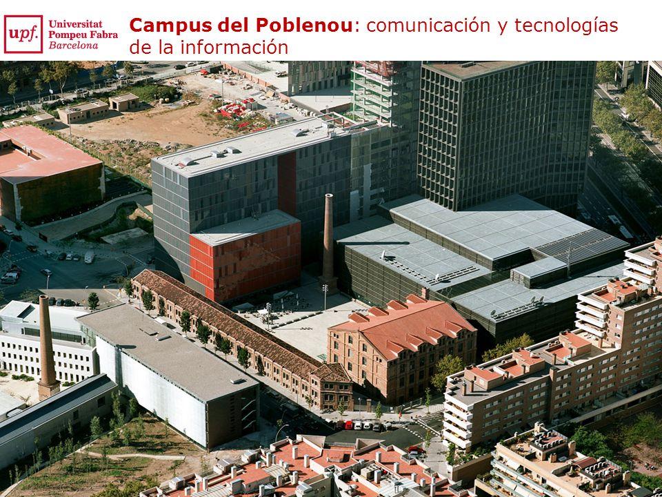 Campus del Poblenou: comunicación y tecnologías de la información
