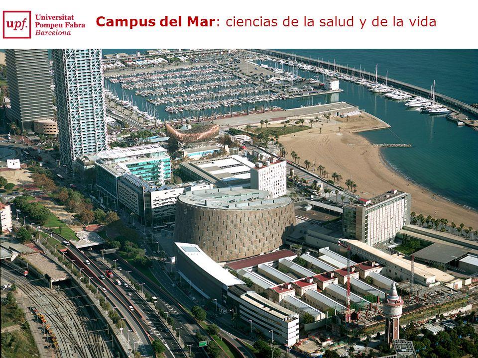 Campus del Mar: ciencias de la salud y de la vida