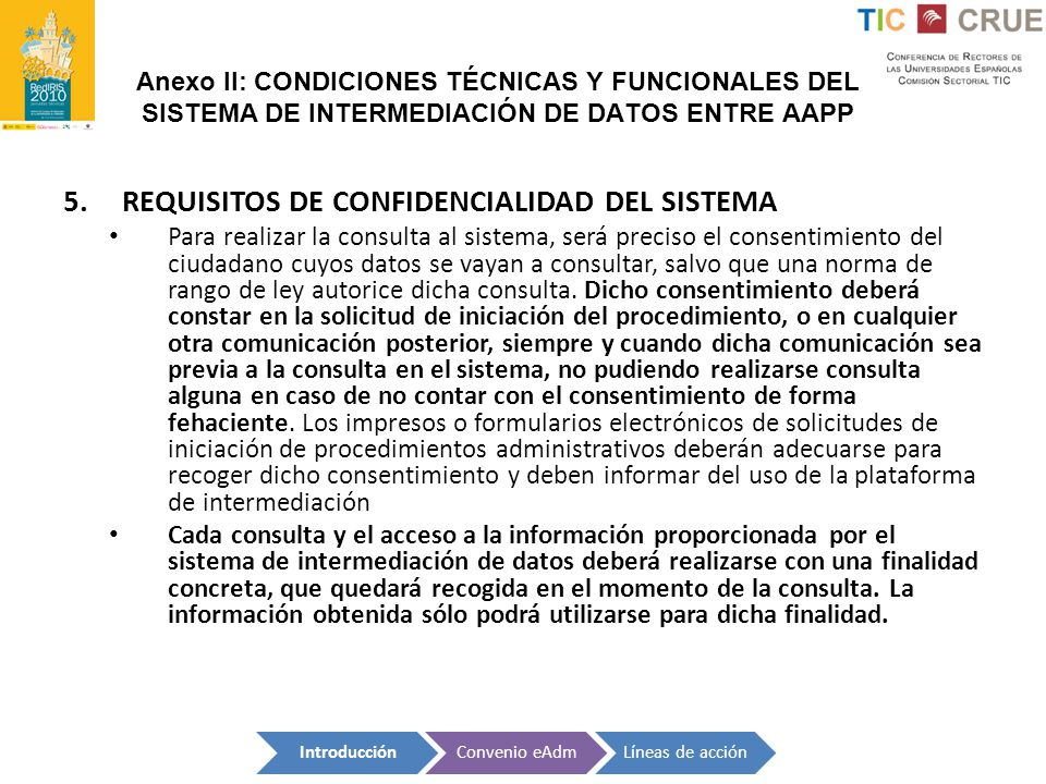 REQUISITOS DE CONFIDENCIALIDAD DEL SISTEMA