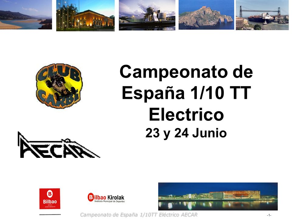 Campeonato de España 1/10 TT Electrico
