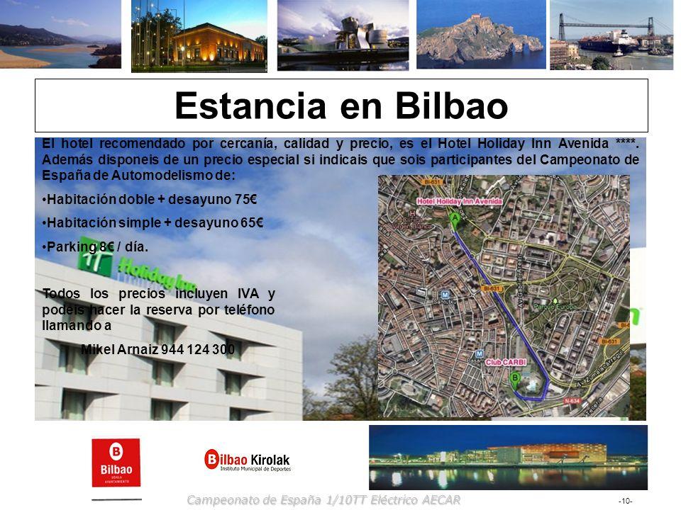 Estancia en Bilbao