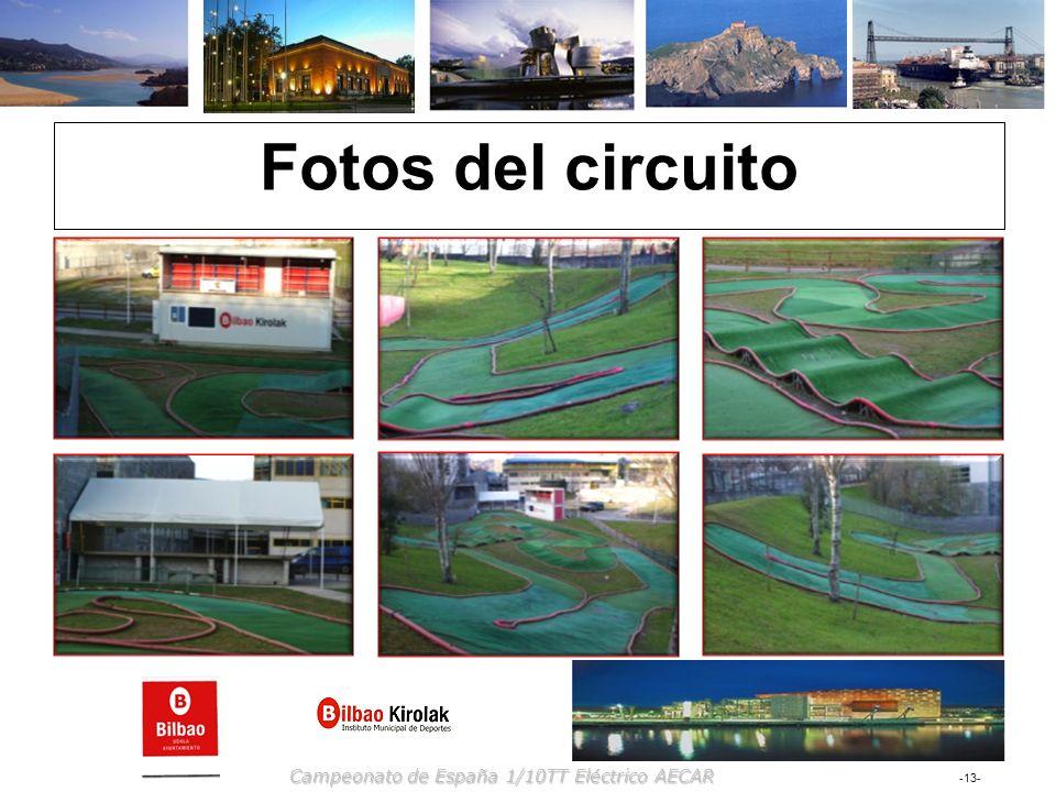 Fotos del circuito Campeonato de España 1/10TT Eléctrico AECAR