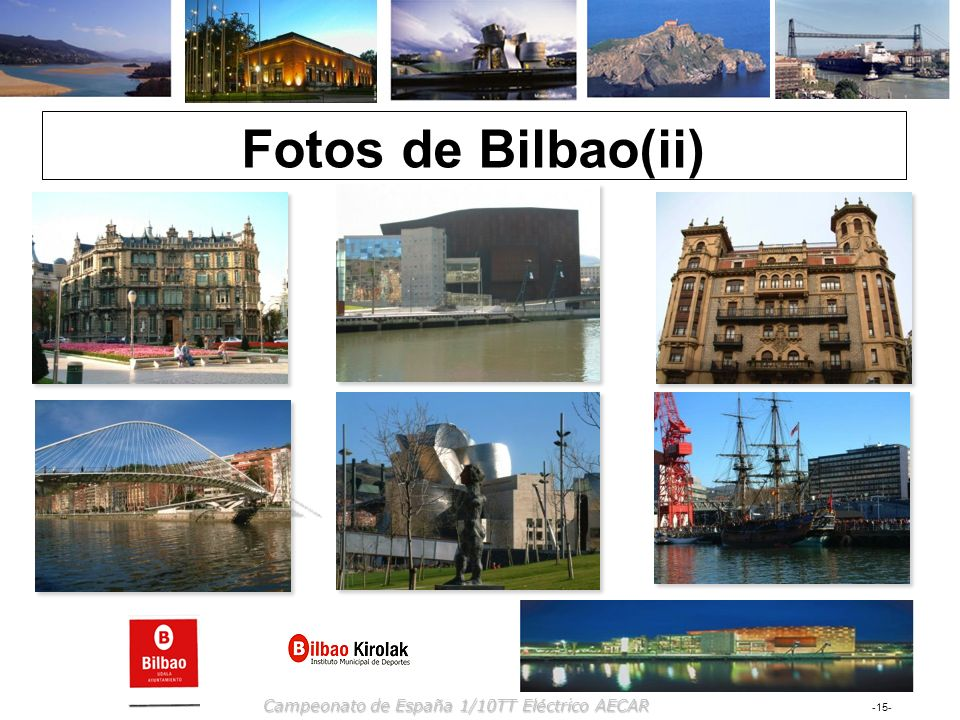 Fotos de Bilbao(ii) Campeonato de España 1/10TT Eléctrico AECAR