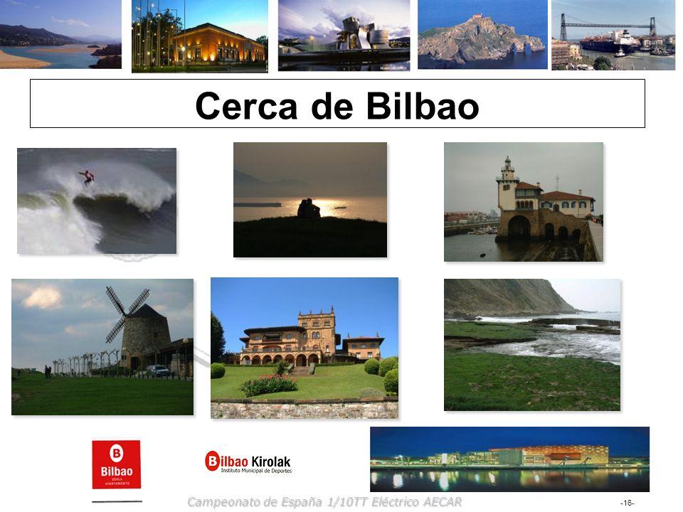 Cerca de Bilbao Campeonato de España 1/10TT Eléctrico AECAR
