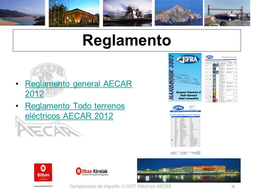 Reglamento Reglamento general AECAR 2012