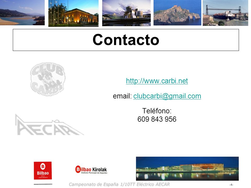 Contacto http://www.carbi.net
