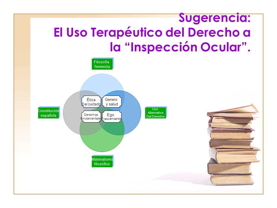 Sugerencia: El Uso Terapéutico del Derecho a la Inspección Ocular .