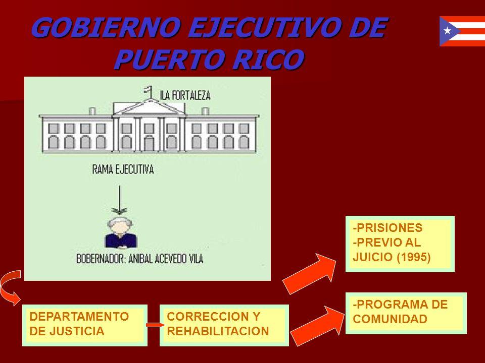 GOBIERNO EJECUTIVO DE PUERTO RICO