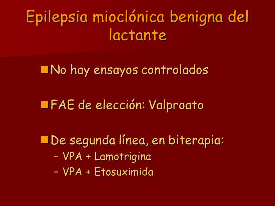 Epilepsia mioclónica benigna del lactante