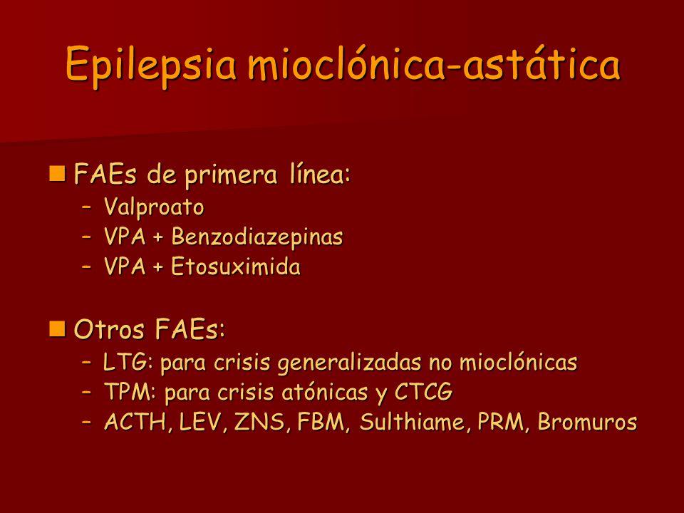 Epilepsia mioclónica-astática