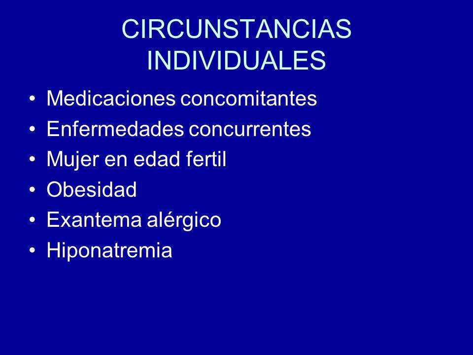 CIRCUNSTANCIAS INDIVIDUALES
