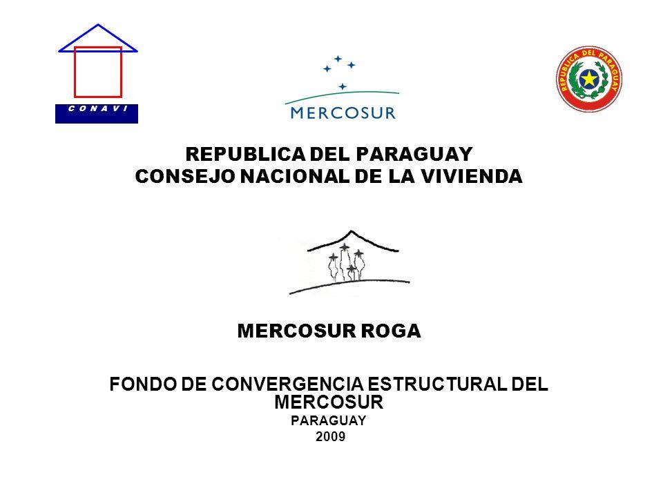 FONDO DE CONVERGENCIA ESTRUCTURAL DEL MERCOSUR