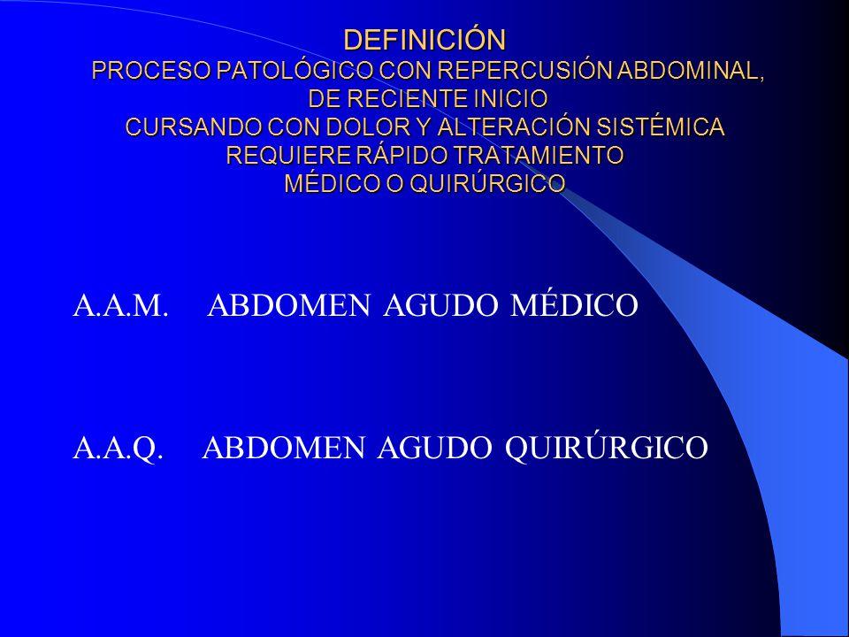 A.A.M. ABDOMEN AGUDO MÉDICO