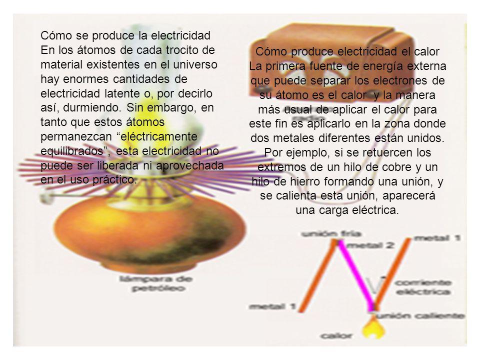 Cómo produce electricidad el calor