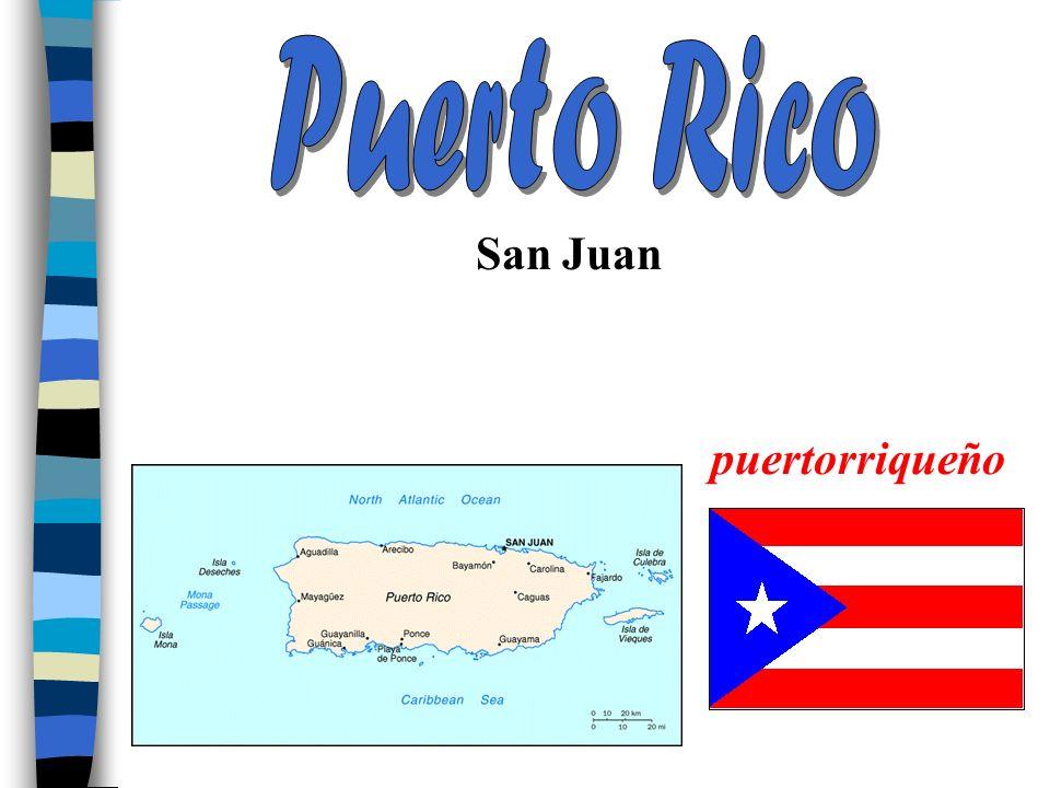 Puerto Rico San Juan puertorriqueño