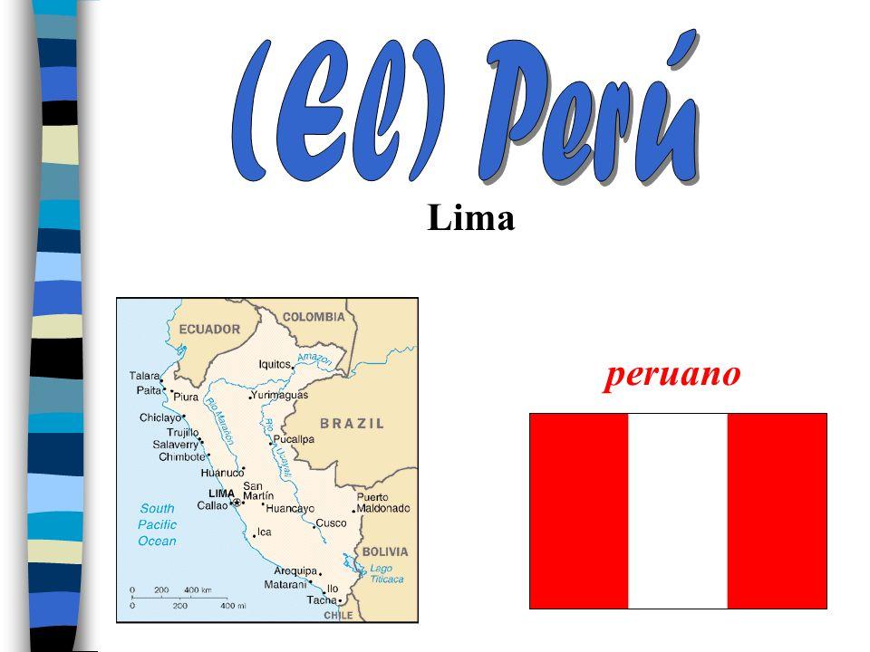 (El) Perú Lima peruano