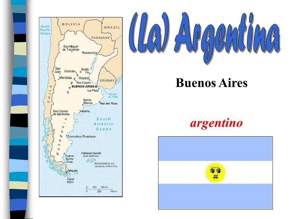 (La) Argentina Buenos Aires argentino