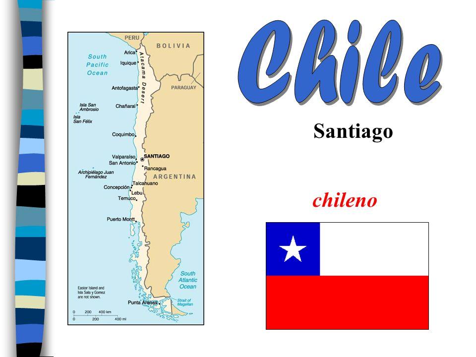 Chile Santiago chileno