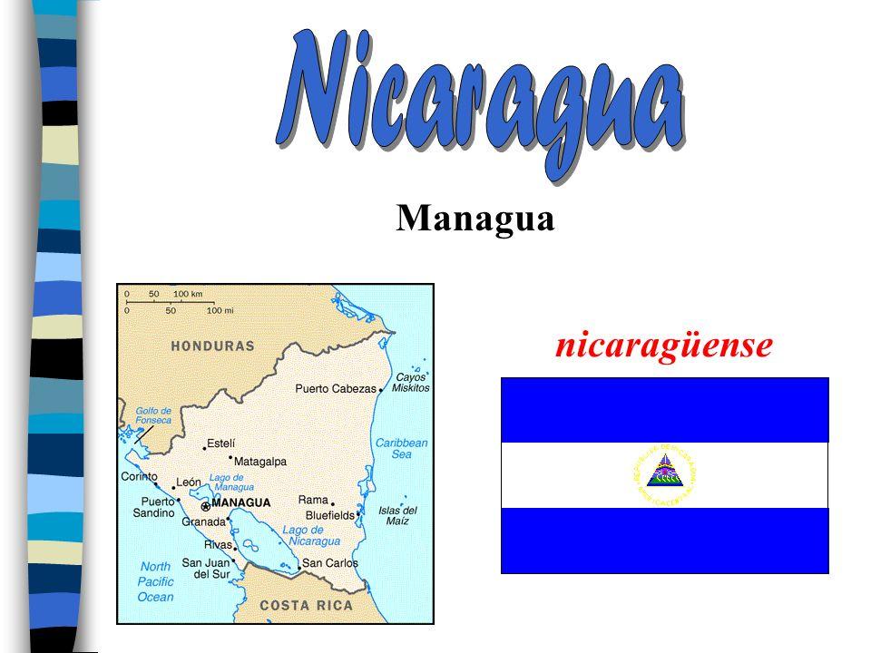 Nicaragua Managua nicaragüense