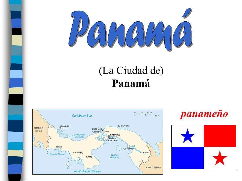 Panamá (La Ciudad de) Panamá panameño