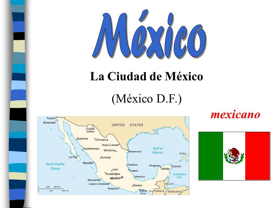 México La Ciudad de México (México D.F.) mexicano