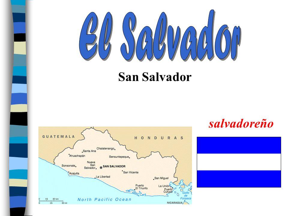 El Salvador San Salvador salvadoreño