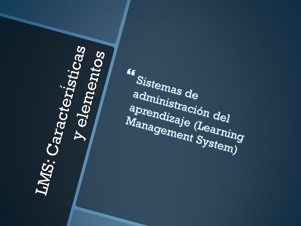 LMS: Características y elementos