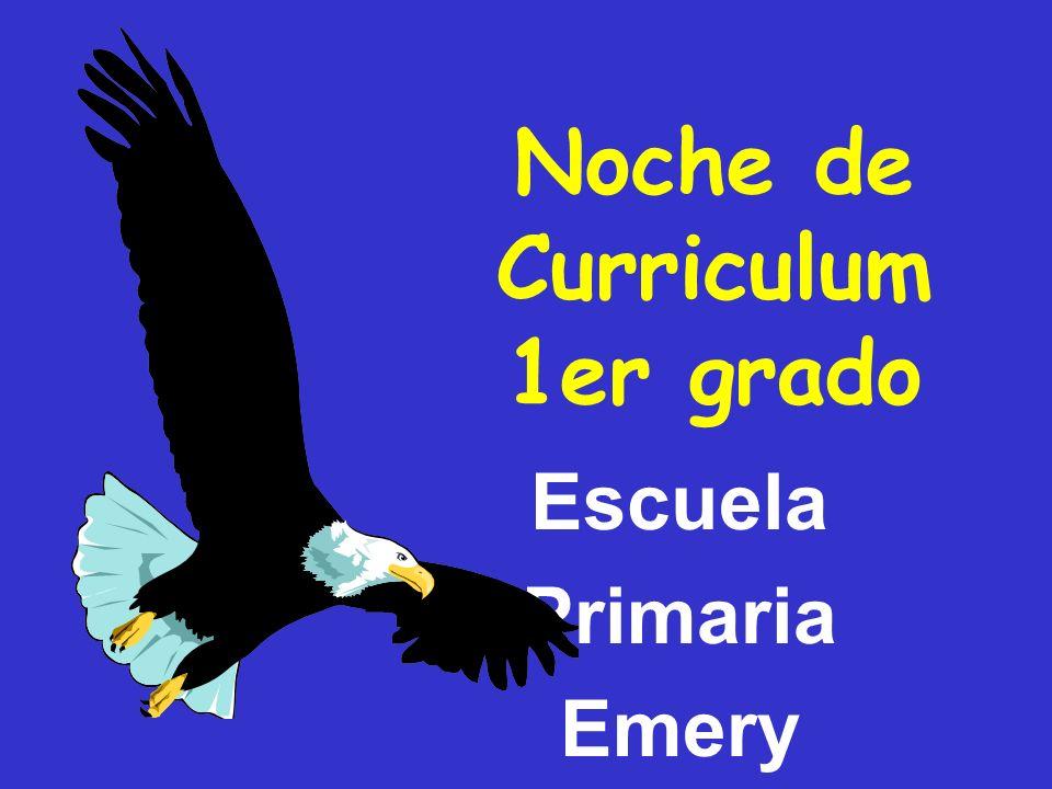 Noche de Curriculum 1er grado