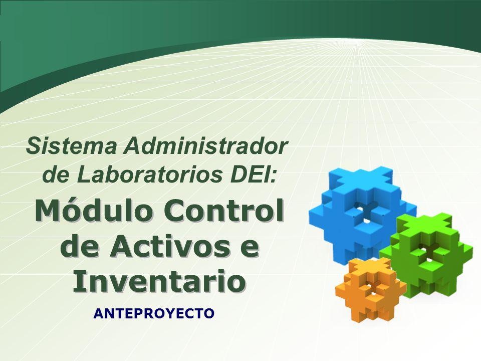 Módulo Control de Activos e Inventario
