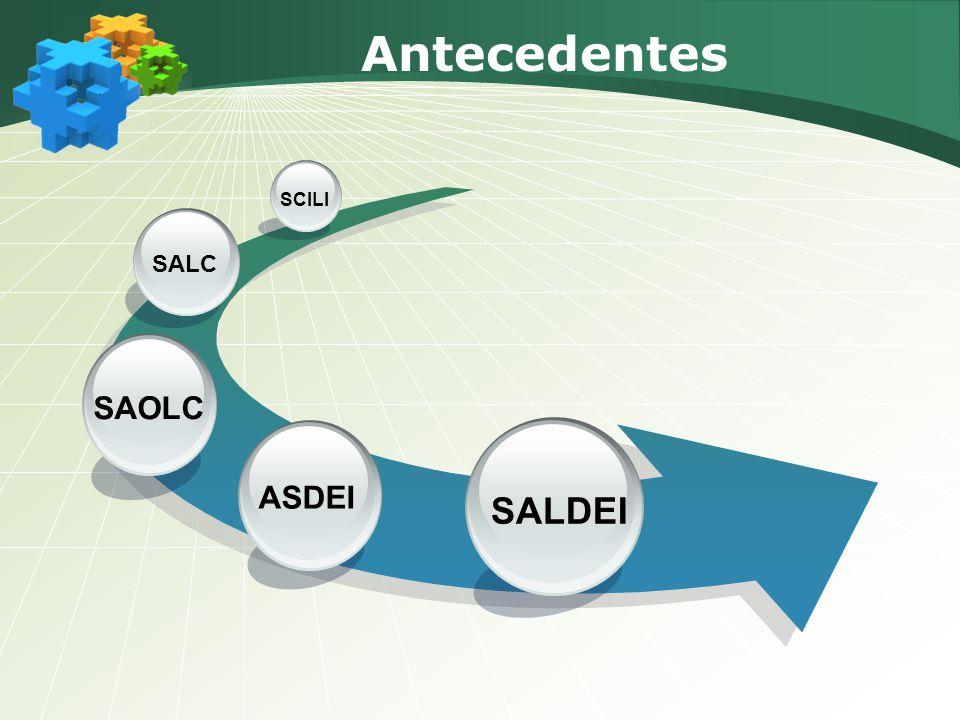 Antecedentes SCILI SALC SAOLC ASDEI SALDEI
