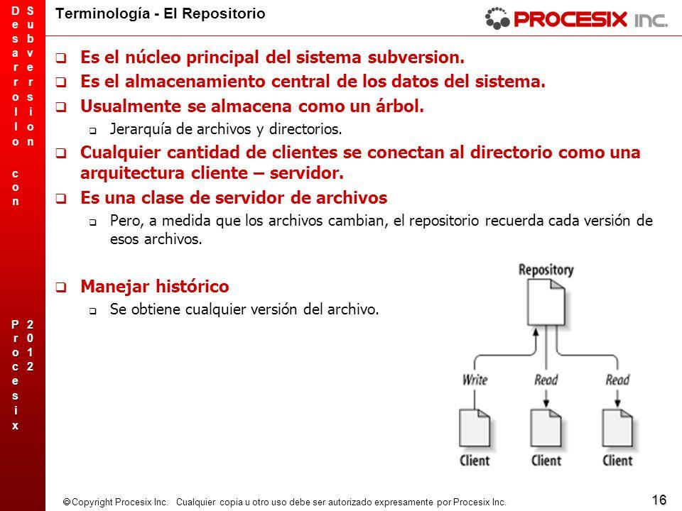 Terminología - El Repositorio