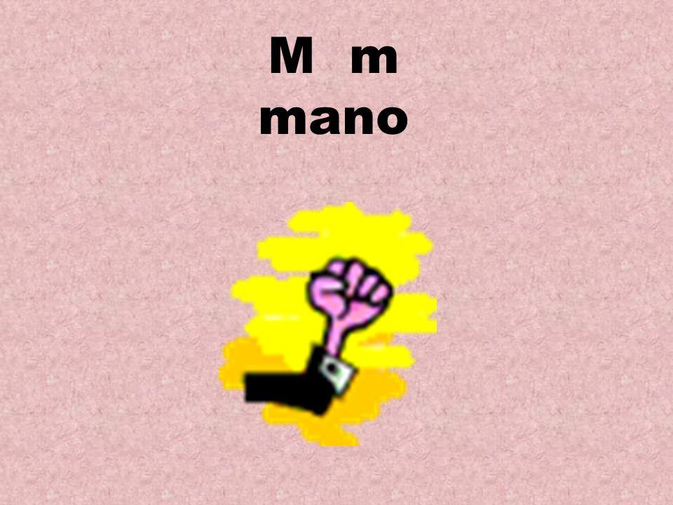 M m mano