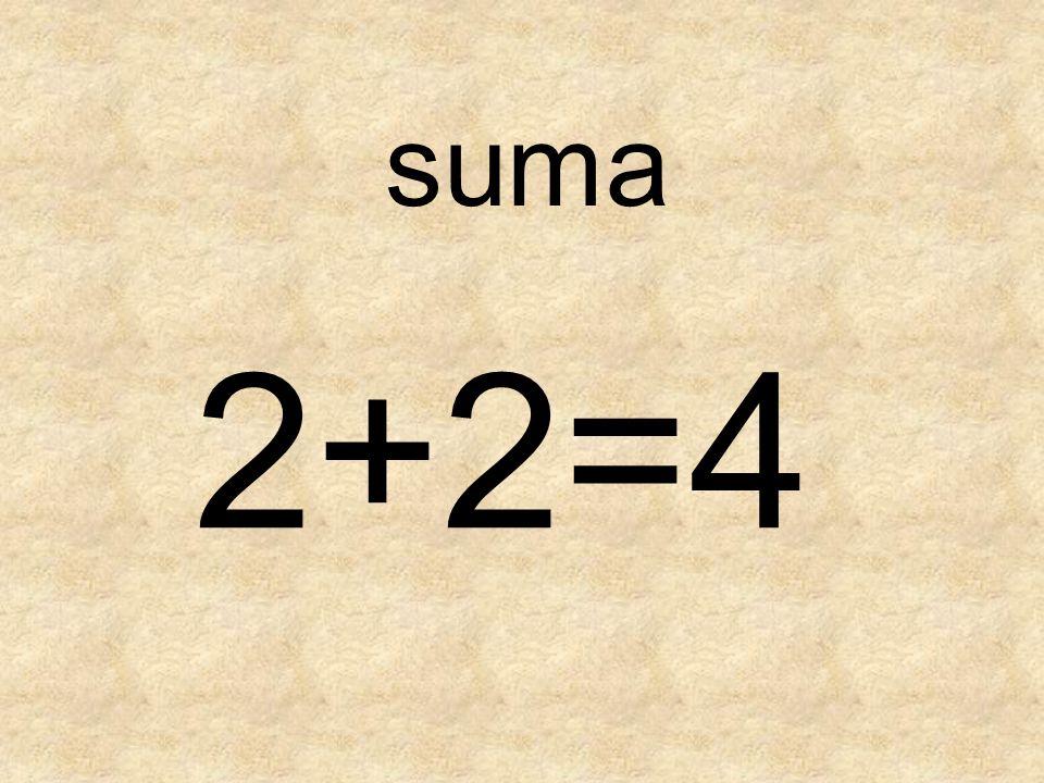 su ma 2+2=4