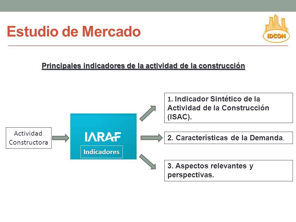 Estudio de Mercado Principales indicadores de la actividad de la construcción. Actividad. Constructora.