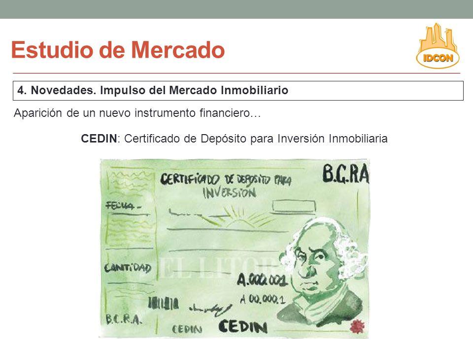 CEDIN: Certificado de Depósito para Inversión Inmobiliaria