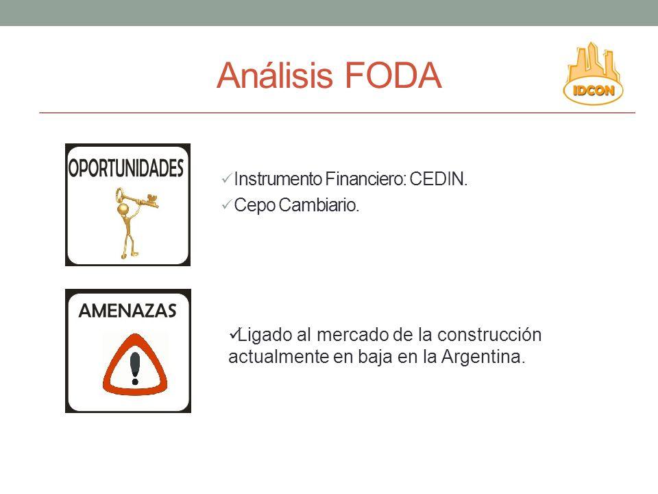 Análisis FODA Instrumento Financiero: CEDIN. Cepo Cambiario.