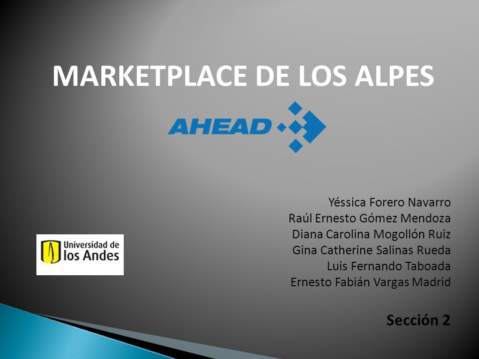 MARKETPLACE DE LOS ALPES