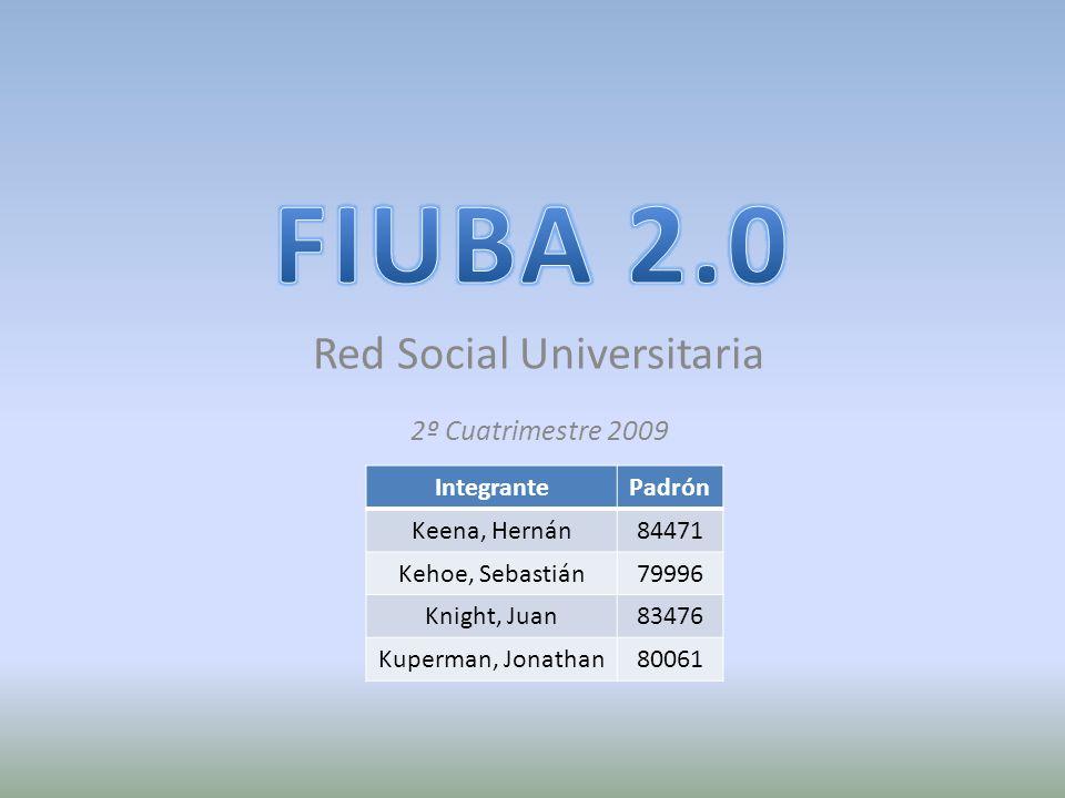 Red Social Universitaria