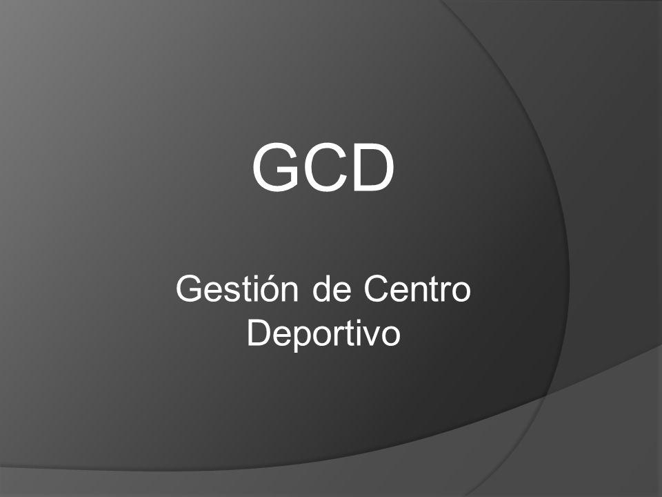 Gestión de Centro Deportivo
