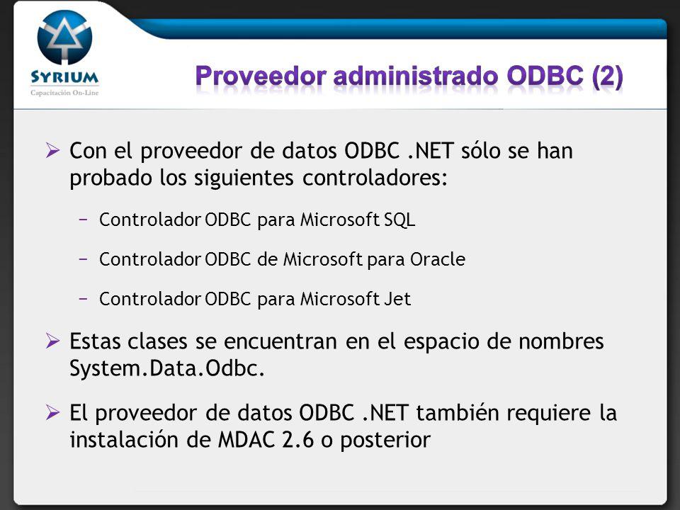 Proveedor administrado ODBC (2)