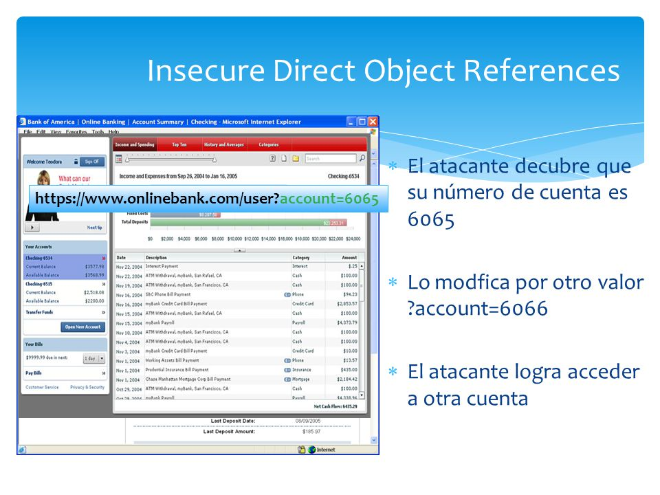 Insecure Direct Object References